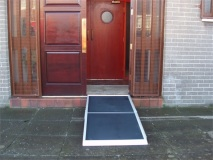 7ft Aluminium Folding Ramp