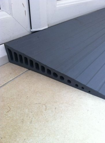 36mm rubber wedge ramp